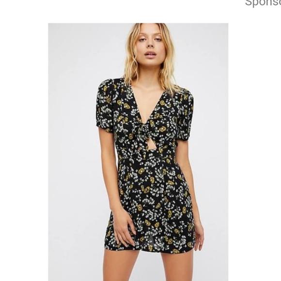 9853d671d73a87 Free People Dresses | Jinx Floral Printed Romper | Poshmark